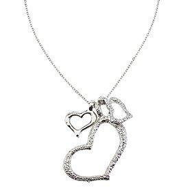 Amazon.com: JEW JEWLY Three Plump Heart Necklace: Jewelry