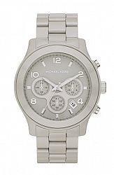 Michael Kors MK5580 Women's Gray Runway Ceramic Bracelet Chronograph Watch