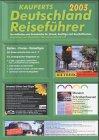 Kauperts Deutschland Reiseführer 2001