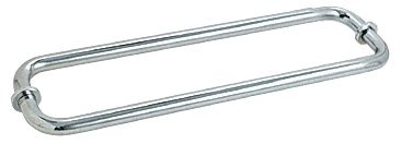 "Crl 12"" Chrome (Bm Series) Back-To-Back Tubular Handle With Metal Washers front-561962"