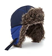 Faux Fur Panelled Trapper Hat with Stormwear™