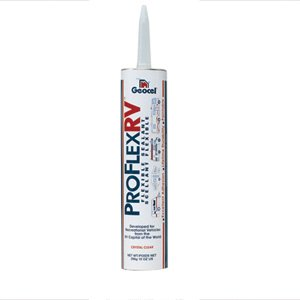 RV Proflex RV Flexible Sealant, Bright White, 10 oz. by GEOCEL