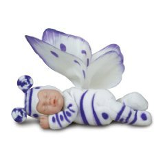 Anne Geddes Baby Butterflies 9 White & Lilac by Unimax Toys