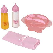 You And Me Doll Feeding Set - Pink