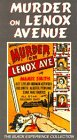 Murder on Lenox Avenue