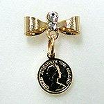 Jewelry Nail プリティネイル チャーミングリボンー2 エリザベス ゴールド PNー0303G
