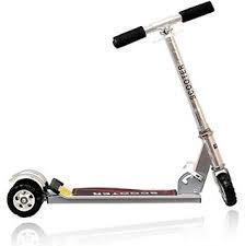 Delhi shop Heavy Metallic Big Size 3 Wheel Height Adjustable Scooter For Kids