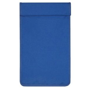 携帯電話圏外袋ブルー