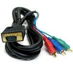 COMON D-Sub(VGA) - コンポーネント変換ケーブル 1.8m VR-18