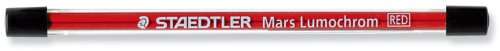 Staedtler Mars Carbon Lead, 2Mm, Red, 4 Lead (204-E4-2)