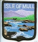 Scotland Scottish Isle of Mull Flag Embroidered Patch Badge