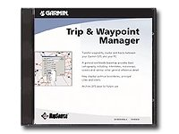 Garmin MapSource Trip and Waypoint Manager
