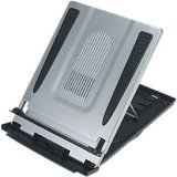 Aidata LAPlift Laptop Riser with Cooling Fan and Swivel Base