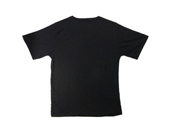 111 Fashion Sound-Activated Light Up And Down Led El Short-Sleeved T-Shirt M (Black)