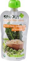 Sprout Baby Food Swt Peas Grns B, 4 oz - 1