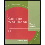 img - for College Workbook- Harbrace Handbooks 15th EDITION book / textbook / text book