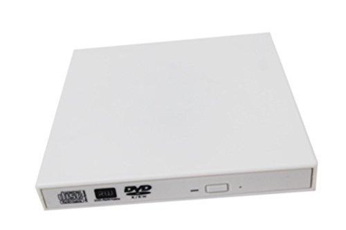 Highdas Blanc externe USB DVD DL RW Lecteur/Graveur/Graveur/Lecteur Copieur