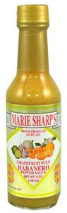 Marie Sharps Grapefruit Pulp Habanero Hot Sauce by Marie Sharp's