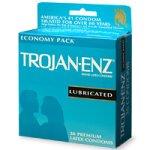 Trojan-Enz Latex Condoms, Premium Lubricant, 36-Count Boxes (Pack of 2)