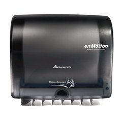 Georgia Pacific Enmotion 59488 Impulse 10 Automated Touchless Paper Towel Dispenser, Translucent Smoke