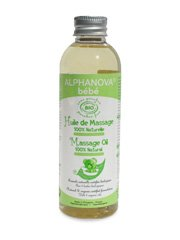 Alphanova Bebe-Organic Baby Massage Oil (100ML) - 1