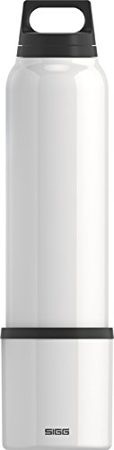 Sigg Classic Thermo Water Bottle With Cup, White front-546916