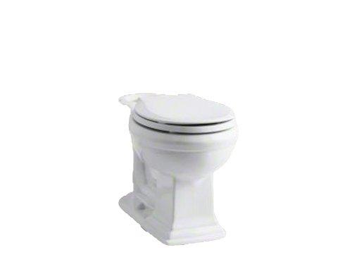 Kohler K-4387-0 Memoirs Comfort Height Round Front Toilet Bowl, White