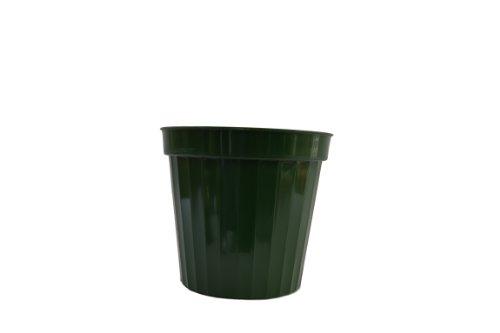 Plastic Decorative Pots 9 Green