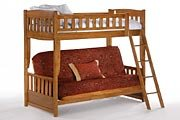 Full Over Futon Bunk Bed 8026 front