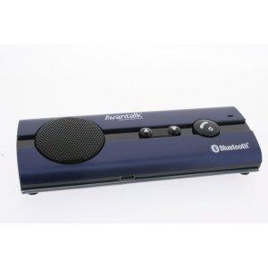 Avantalk Btck-10B Black Multipoint Bluetooth Visor Handsfree Wireless Black Speakerphone Car Kit