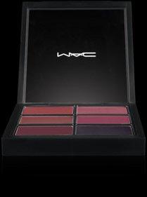 Mac Pro Lip Palette ~ 6 SELECT PLUMS ~ Glamour Daze