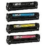 Compatible Canon 116 Toner Cartridges Combo - (BCMY) for MF8050Cn - 4 Pack