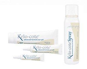 Kelo-cote Advanced Formula Scar Gel - 10 Cans, 100 ml per Spray Can