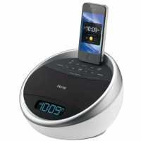 Ihome Ia17Wzc Color Changing 30-Pin Ipod/Iphone Alarm Clock Speaker Dock front-640310
