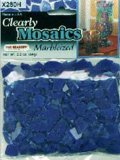 Clearly Mosaics Marbleized Pieces 64g-Cobalt - 1