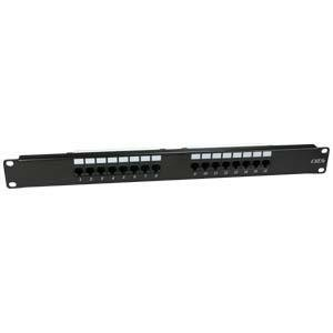 InstallerParts Cat 6 110 Type Patch Panel 16 Port Rackmount