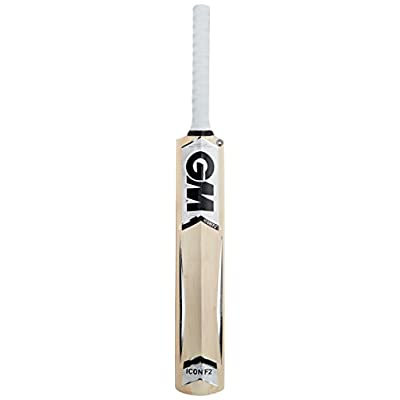 GM Icon F2 Striker Kashmir Willow Cricket Bat, Short Handle