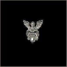 Guardian Angel Biker Pin