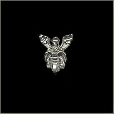 Guardian Angel Biker Pin