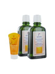 Weleda Stretch Marks Massage Oil Duo Special Offer