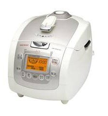 Cuckoo IH Electric Pressure Rice Cooker CRP-HF0610F (6 cups) - Ivory/Silver (Electric Cooker Ih compare prices)