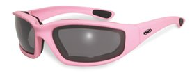 Fight Back Light Pink Smoke Biker Babe Chick Motorcycle Glasses Sunglasses Global Vision Eyewear will donate a portion of the sales for all Fight Back Glasses to the National Breast Cancer Foundation