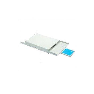 Chatsworth 12487-719 Monitor Shelf with Single Sliding Keyboard & Mousepad Tray