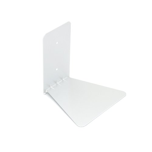 Umbra Conceal Floating Bookshelf, Small, White
