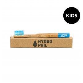 HYDROPHIL Bambus Zahnbürste für Kinder - blau
