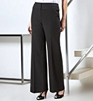 Per Una Roma Cotton Rich Slim Bootleg Trousers