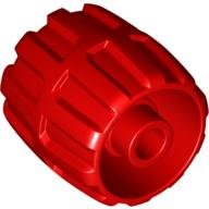 Lego Parts: 22 mm x 24 mm Wheel Hard Plastic Small (Red) - 1