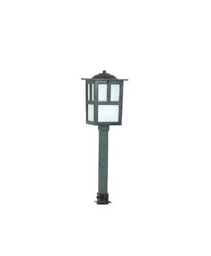 Hubbell Lighting Ms-Ag Led Mission Lightscaper Fixture, Antique Green Finish