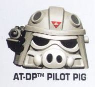 """Star Wars Angry Birds Rebels """"AT-DP Driver Pig"""" Telepod Figure with Teleporter Base"""