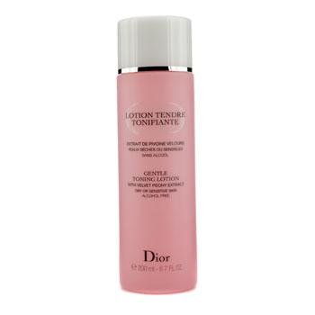 Dior Gentle Toning Lotion with Velvet Peony Extract 6.7 oz тени для век christian dior 5 color eyeshadow 846